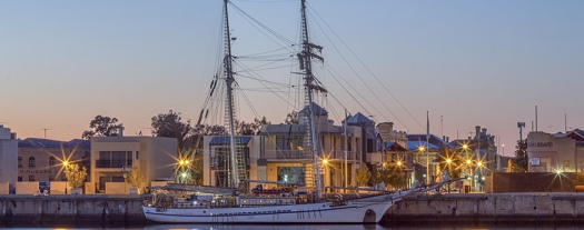 One-and-All-tall-ship-at-Port-Adelaide